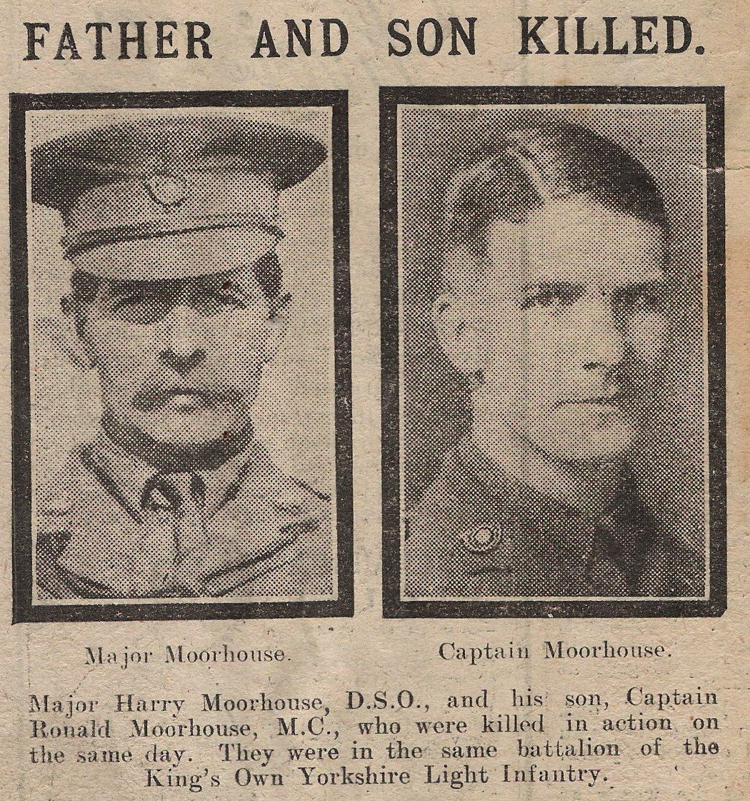Harry and Ronald Moorhouse