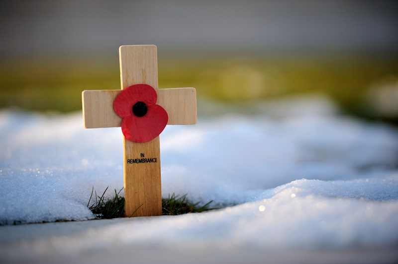 In remembrance cross