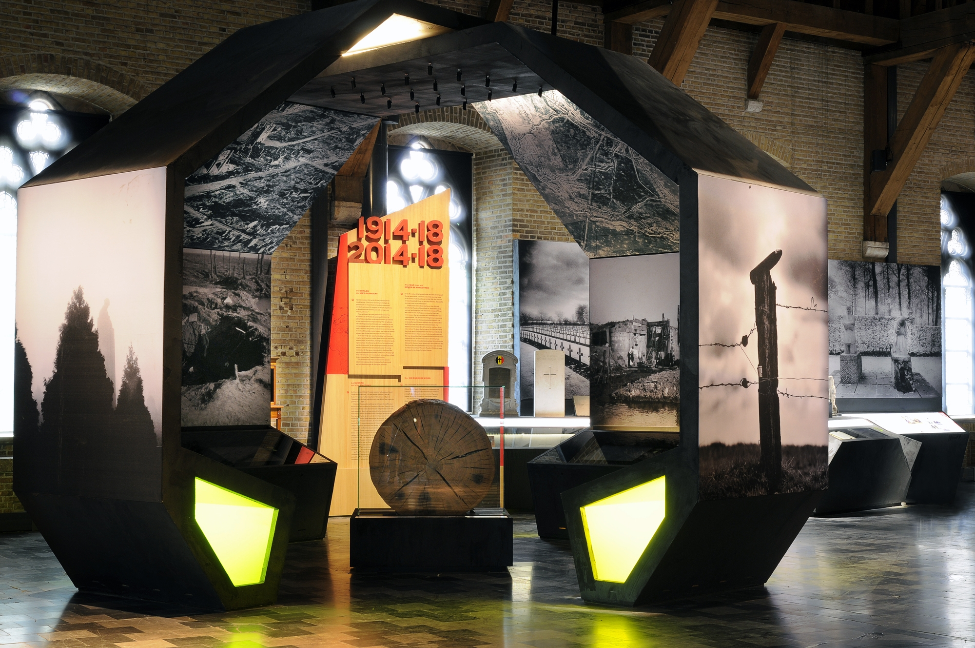 Interior In Flanders Fields Museum