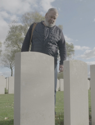 Wim Opbrouck in Flanders Fields