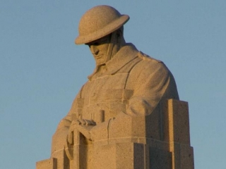 Canadian Memorial - Brooding Soldier